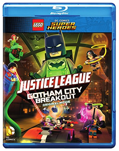 LEGO DC Comics Super Heroes: Justice League: Gotham City Breakout (BD) [Blu-ray] from Warner Manufacturing