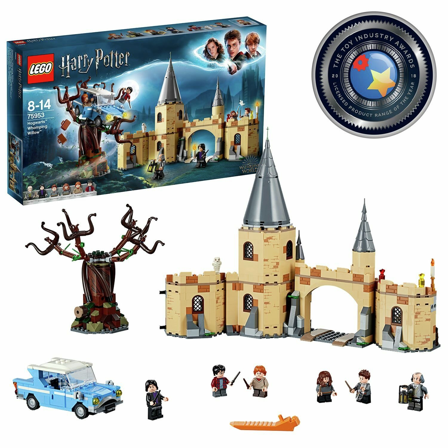 LEGO Harry Potter Hogwarts Whomping Willow Toy - 75953 from LEGO