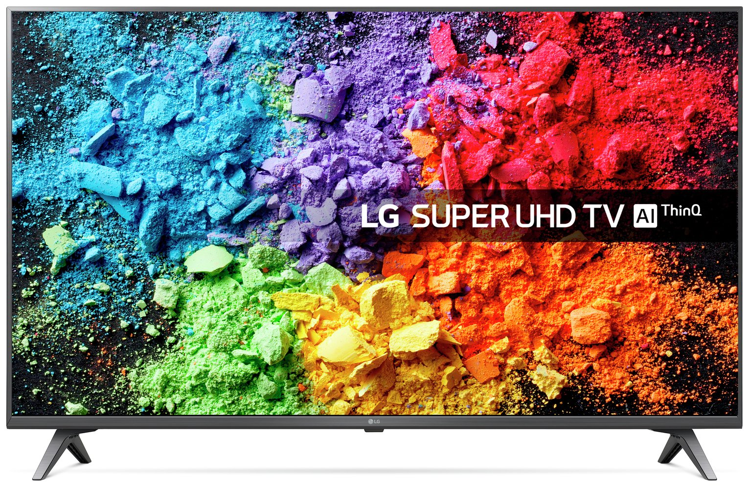 LG 49 Inch 49SK8000PLB Smart Ultra HD TV with HDR from LG