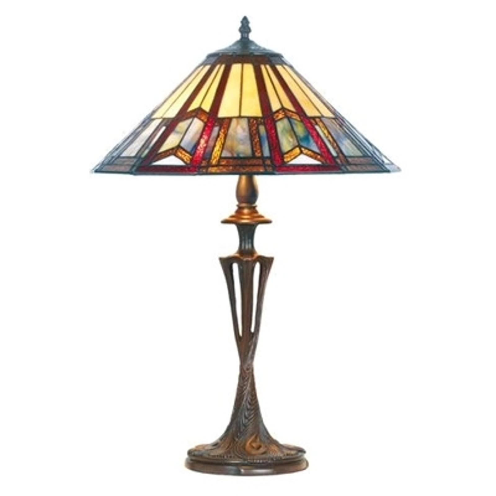 LILLIE elegant Tiffany-style table lamp from Artistar