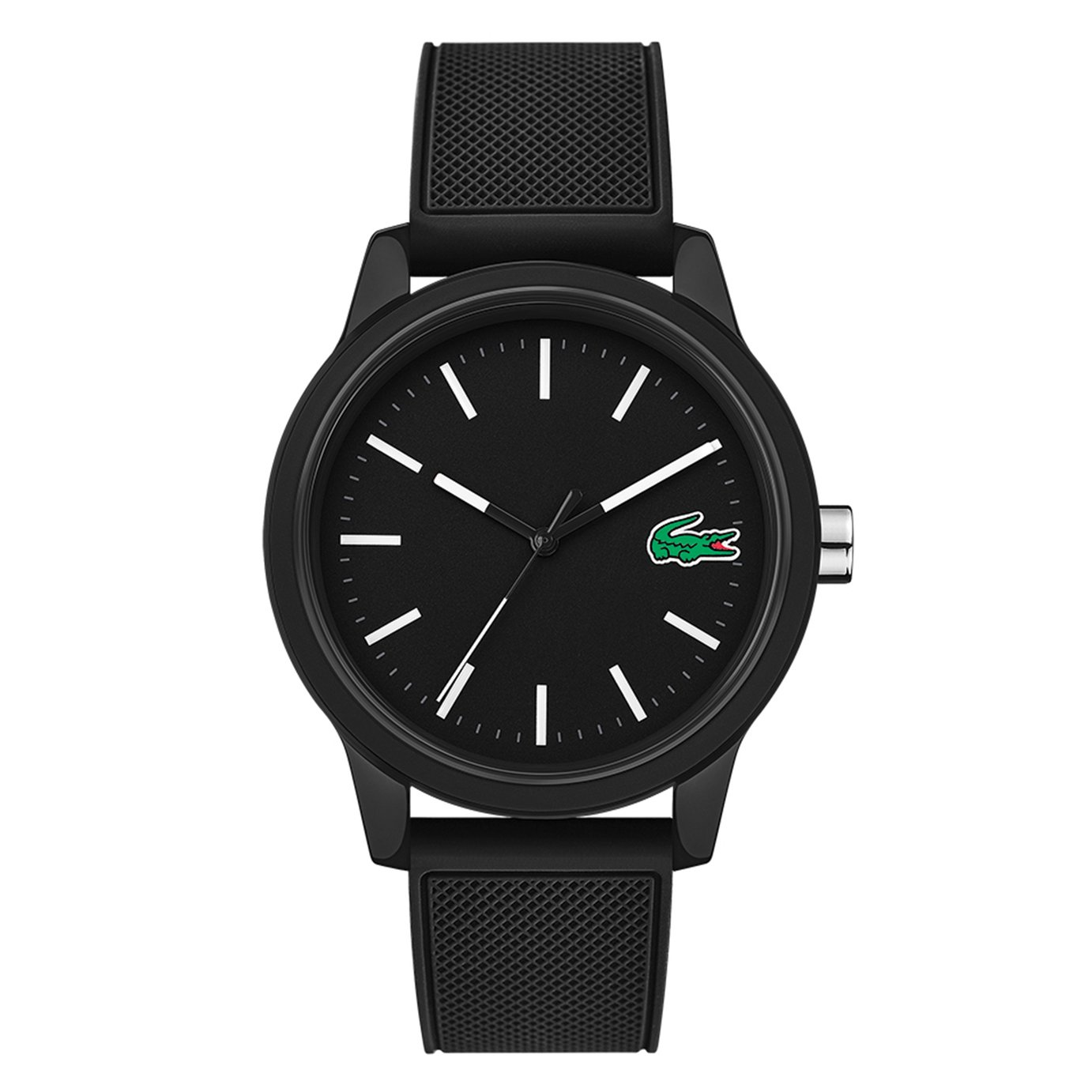 Lacoste Men's 12.12 Black Strap Watch from Lacoste