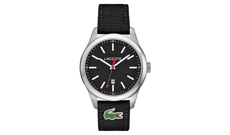 Lacoste Men's Auckland Black Strap Watch from Lacoste