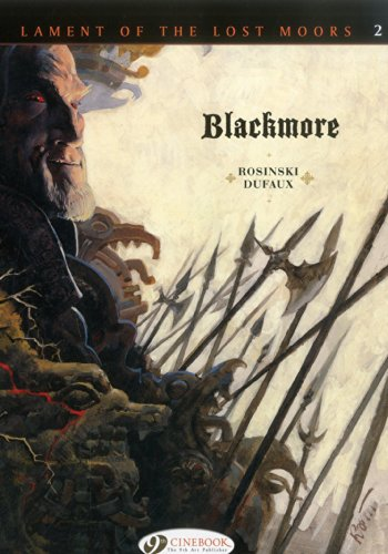 Lament of the Lost Moors Vol. 2 : Blackmore from Cinebook Ltd