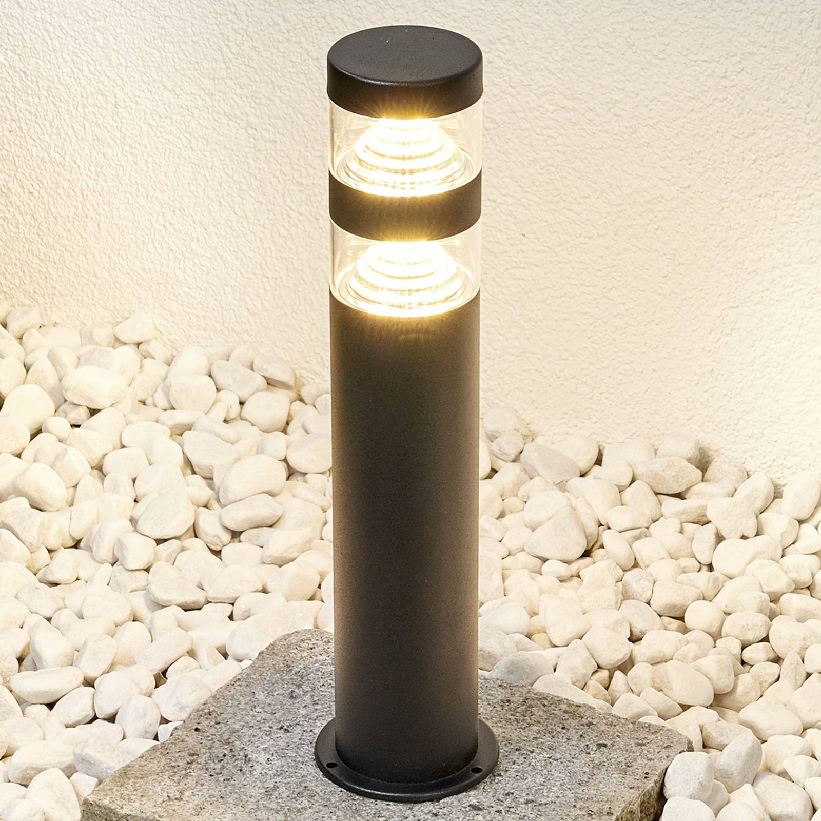 Lanea pillar light with LEDs - warm white from Lindby