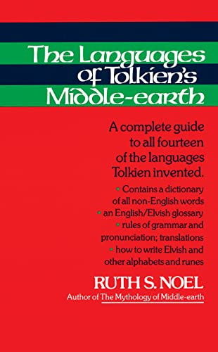 Languages of Tolkien's Middle-earth from Houghton Mifflin (Trade)