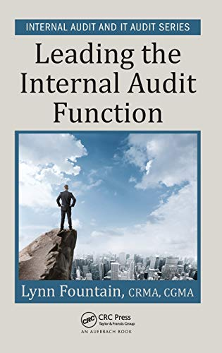 Leading the Internal Audit Function (Internal Audit and IT Audit) from Productivity Press