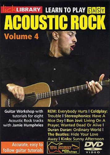 Learn To Play Easy Acoustic Rock Volume 4 [DVD] from Music Sales