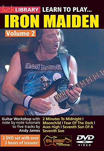 Learn To Play Iron Maiden Vol 2 For Guitar from Hal Leonard