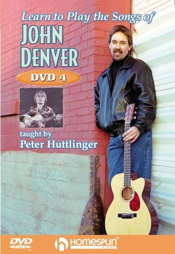Learn To Play The Songs Of John Denver - Dvd 4 from Hal Leonard