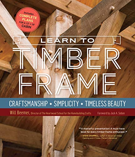 Learn to Timber Frame from Storey Publishing