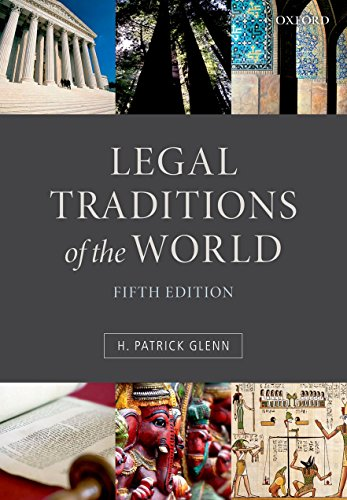 Legal Traditions of the World: Sustainable Diversity In Law from Oxford University Press