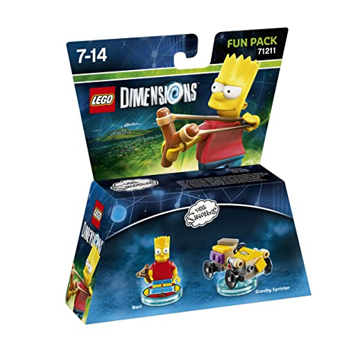 Lego Dimensions - The Simpsons - Bart Fun Pack from Warner Bros. Interactive Entertainment