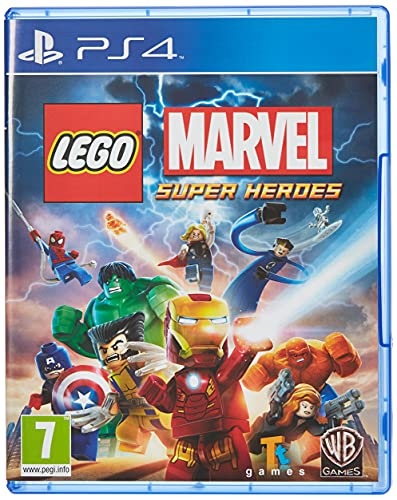 Lego Marvel Super Heroes (PS4) from Marvel