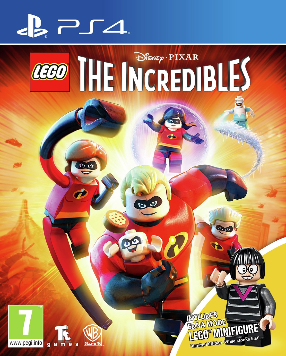 Lego The Incredibles Mini Figure Edition PS4 Game from Lego