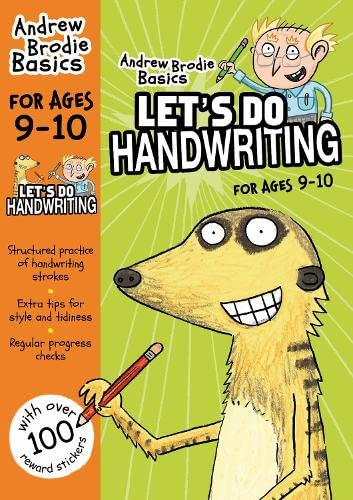 Let's do Handwriting 9-10 (Andrew Brodie Basics) from Bloomsbury Publishing PLC