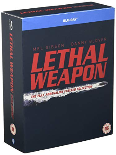 Lethal Weapon: The Complete Collection [4 Film] [Blu-ray] [1987] [2005] [Region Free] from Warner Home Video