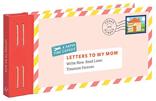 Letters to My Mom: (Books for Mom, Gifts for Mom, Letter Books) from Chronicle Books