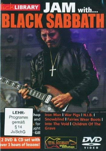Lick Library: Jam With... Black Sabbath [DVD] from Music Sales
