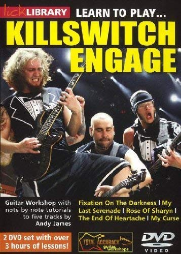 Lick Library: Learn To Play Killswitch Engage [DVD] from Music Sales