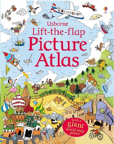 Lift the Flap Atlas from Usborne Publishing Ltd
