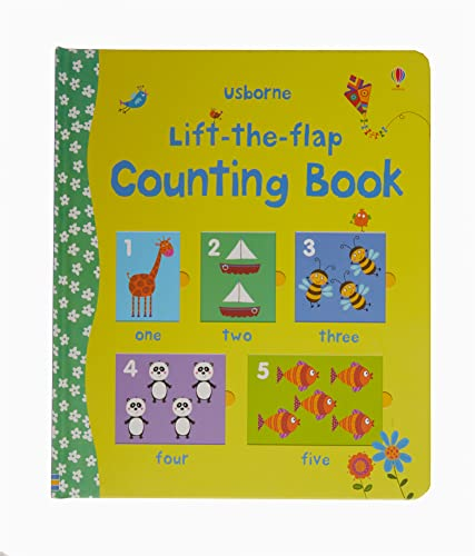 Lift the Flap Counting Book (Usborne Lift-the-Flap-Books): 1 (Preschool Learning) from Usborne Publishing Ltd