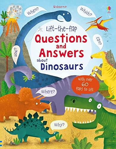 Lift-the-flap Questions and Answers about Dinosaurs (Lift-the-Flap Questions and Answert) from imusti
