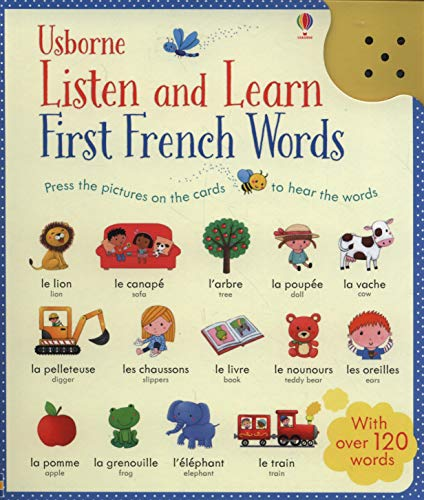Listen and Learn First French Words (Listen & Learn) from Usborne Publishing Ltd