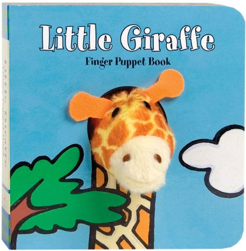 Little Giraffe Finger Puppet Book: 1 (Finger Puppet Books) from Chronicle Books
