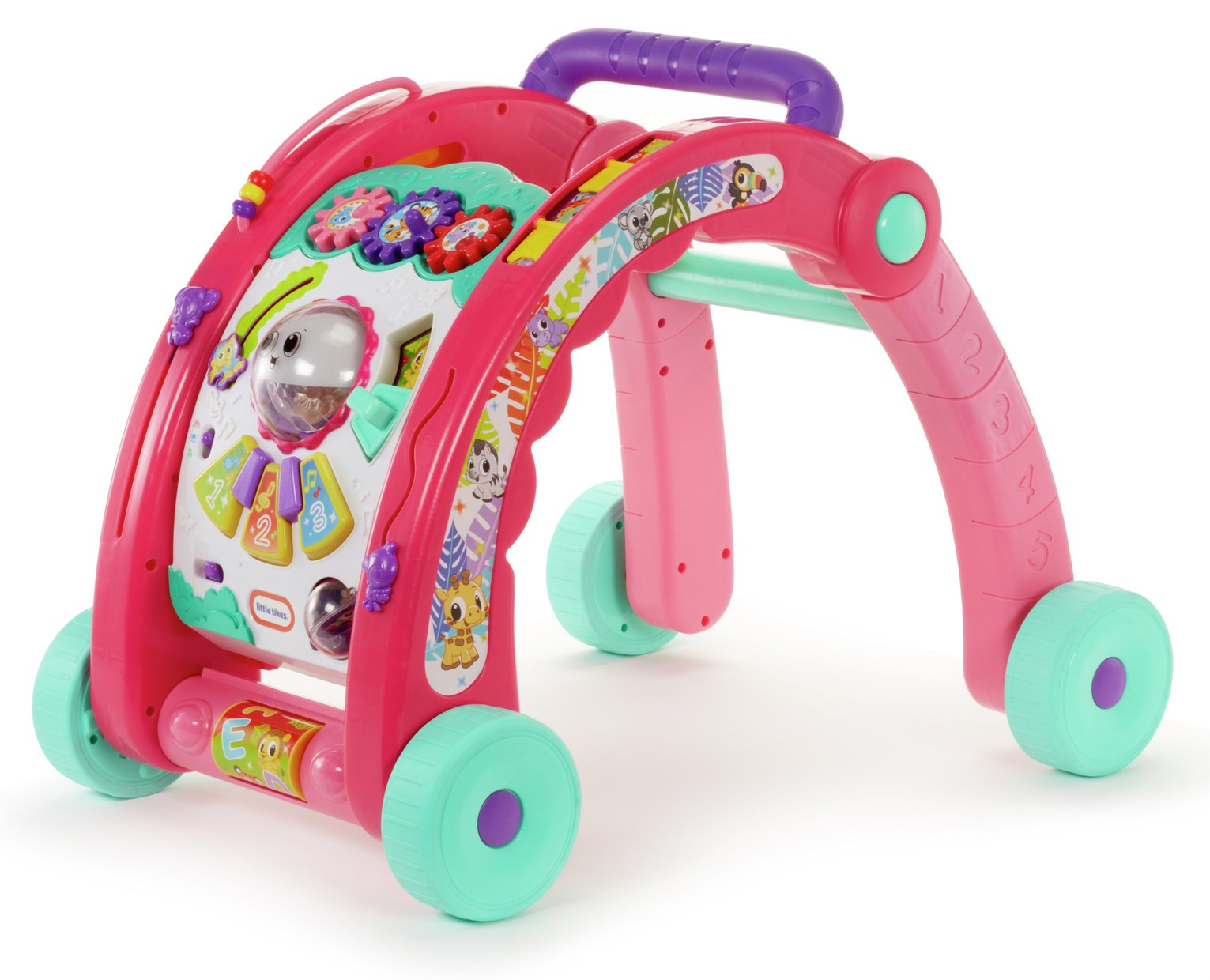 Little Tikes 3-in-1 Activity Walker - Pink from Little Tikes