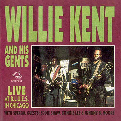 Live at BLUES In Chicago from Wolf Records
