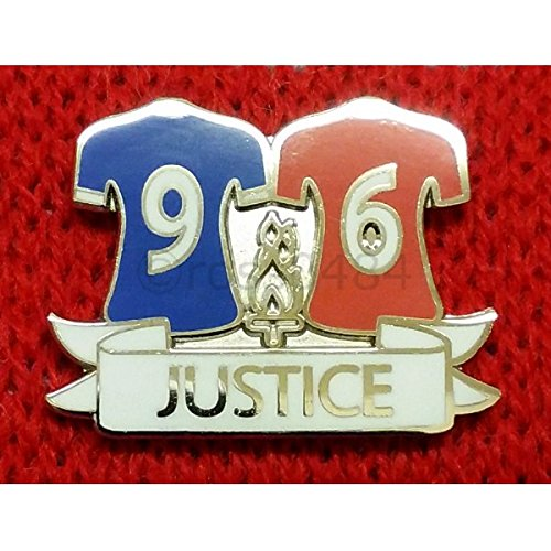 Liverpool BADGE Selection 96 Justice Hillsborough Pin Badge (Kit Justice Silver)