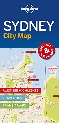 Lonely Planet Sydney City Map from Lonely Planet