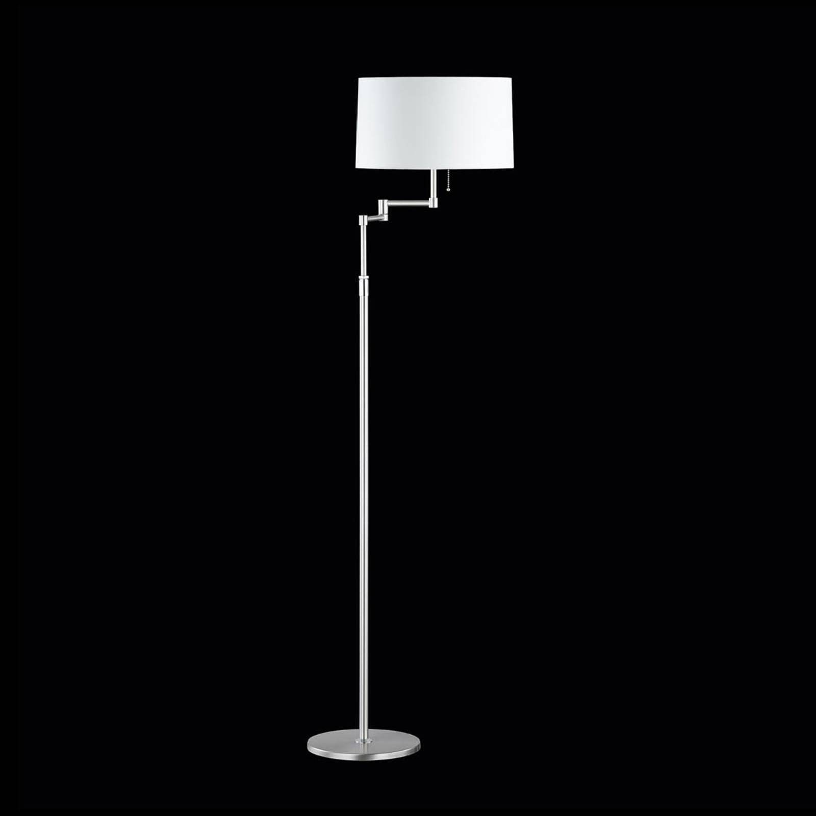 Loop Floor Lamp Adjustable from HUFNAGEL