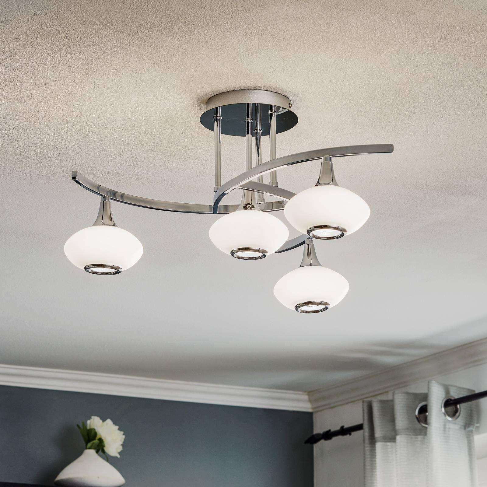 Lurana Ceiling Light Interesting Four Bulbs from Orion