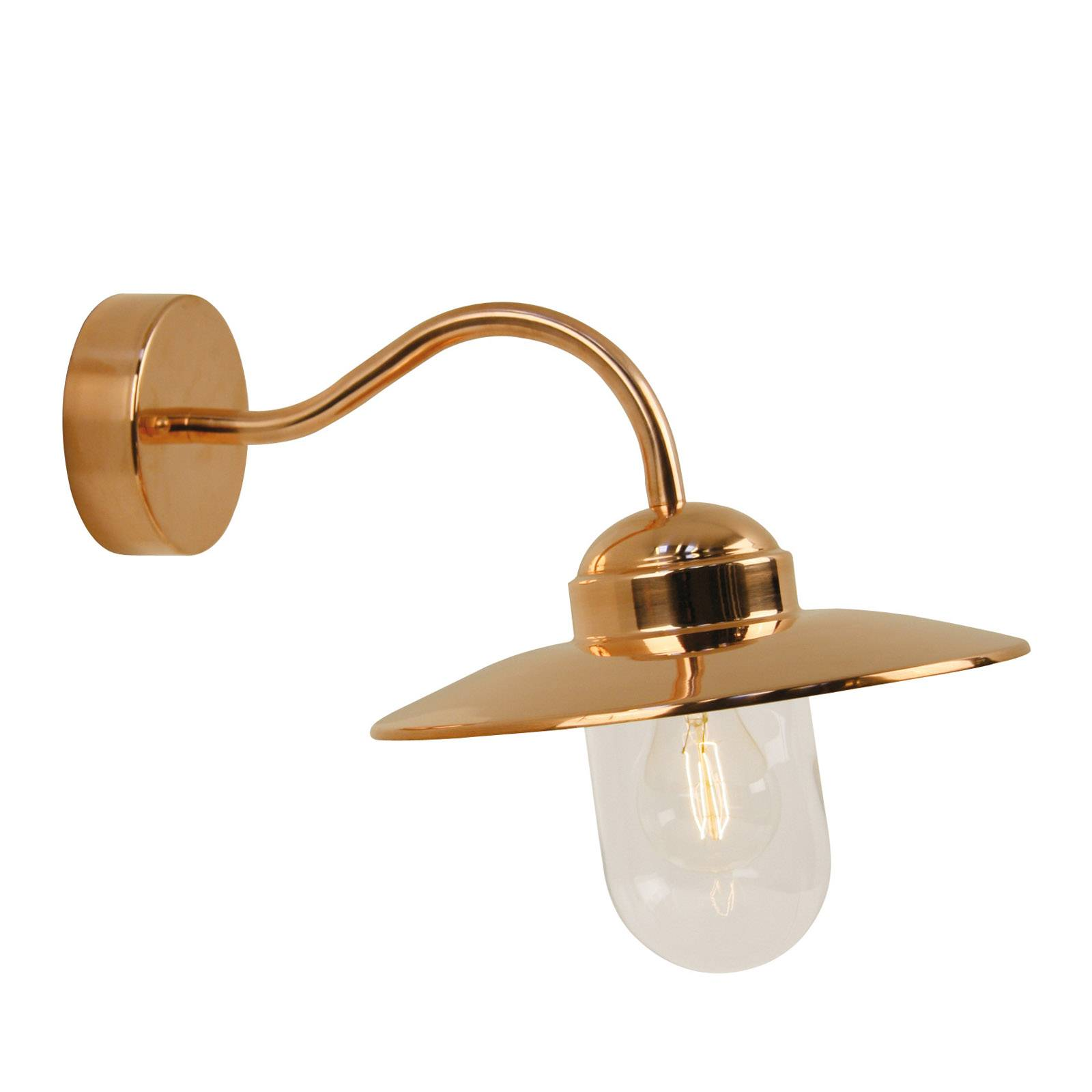 Luxembourg outdoor wall lamp made of copper from Nordlux