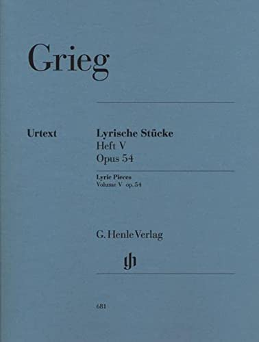 Lyric Pieces op. 54  Vol. 5 - piano - (HN 681) from Henle Verlag