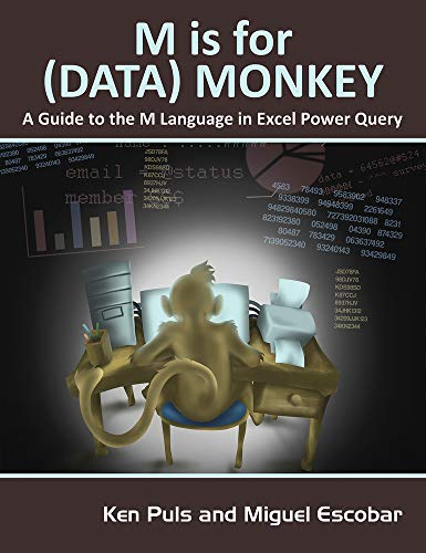M Is for (Data) Monkey from Holy Macro! Books