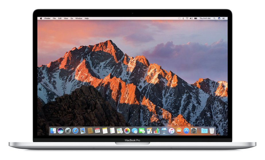 Apple MacBook Pro Touch 2017 15 In i7 16GB 512GB Silver from Apple