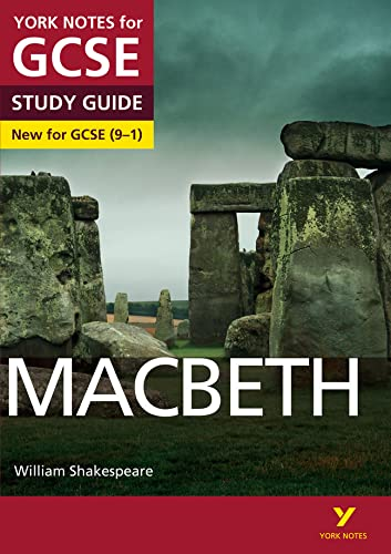 Macbeth: York Notes for GCSE (9-1) from Pearson Education Limited