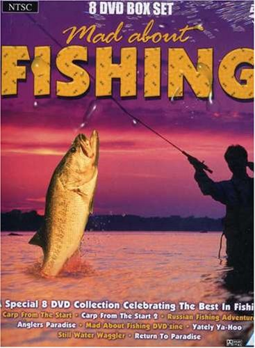 Mad About Fishing Box [DVD] [NTSC] from Musicbank