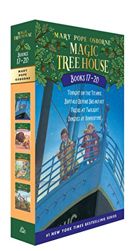 Magic Tree House Books 17-20 Boxed Set: The Mystery of the Enchanted Dog (Magic Tree House (R)) from Random House Books for Young Readers
