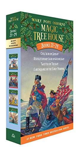 Magic Tree House Books 21-24 Boxed Set: American History Quartet (Magic Tree House (R)) from Random House Books for Young Readers