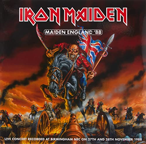 Maiden England '88 [2LP Limited Edition Picture Disc] [VINYL] from EMI MKTG