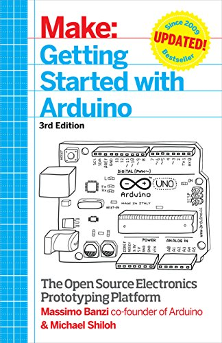 Make: Getting Started with Arduino: The Open Source Electronics Prototyping Platform from Maker Media, Inc