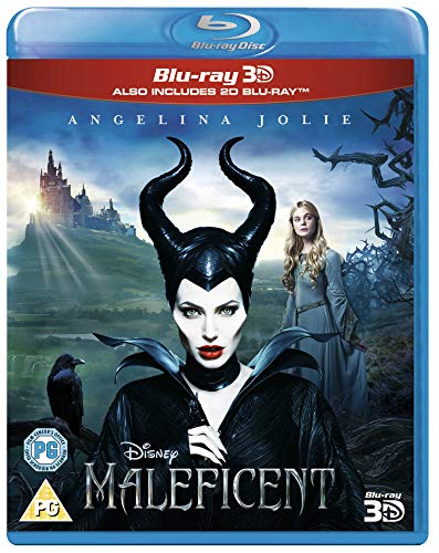 Maleficent (Blu-ray 3D + Blu-ray) [2014] [Region Free] from Walt Disney Studios Home Entertainment