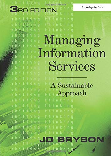 Managing Information Services from Routledge