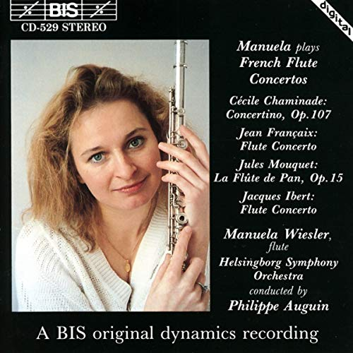 Manuela Plays French Flute Concertos from BIS