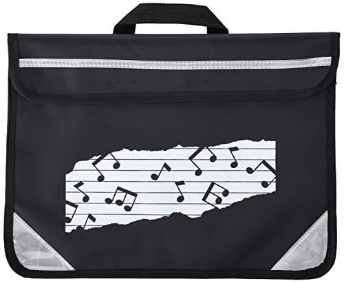 Mapac MP11310-BK Duo Music Bag with Motif - Black from Mapac