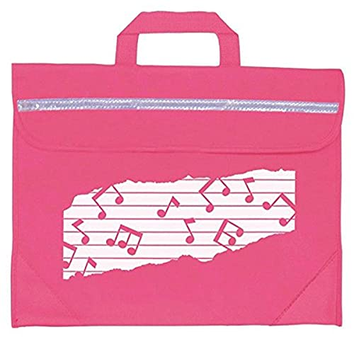 Mapac MP11310-PK Duo Music Bag with Motif - Pink from Mapac