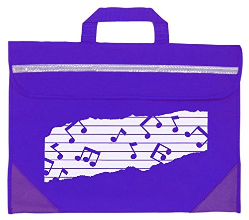 Mapac MP11310-PR Duo Music Bag with Motif - Purple from Mapac